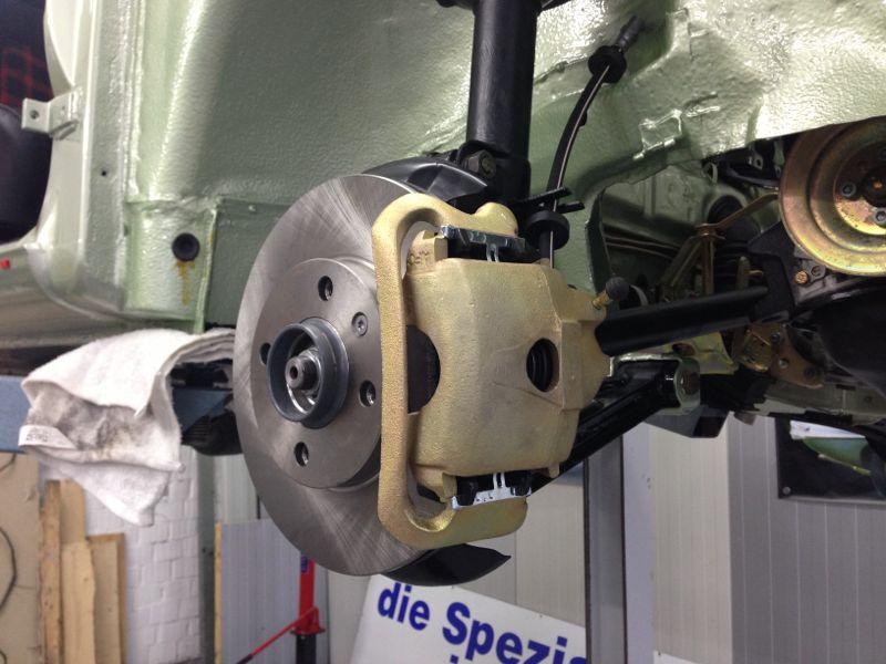 VW II Bremse