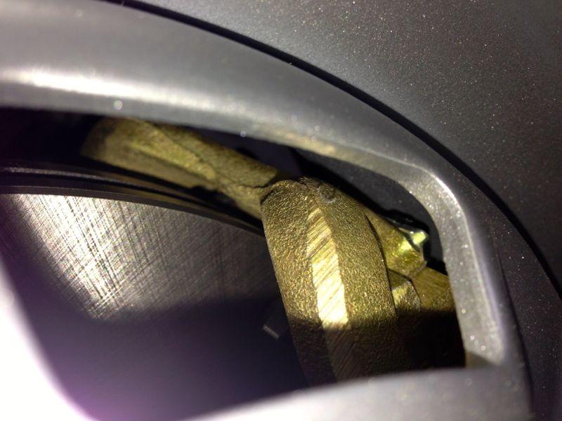 VW II Bremse Passgenauigkeit (Detailansicht)