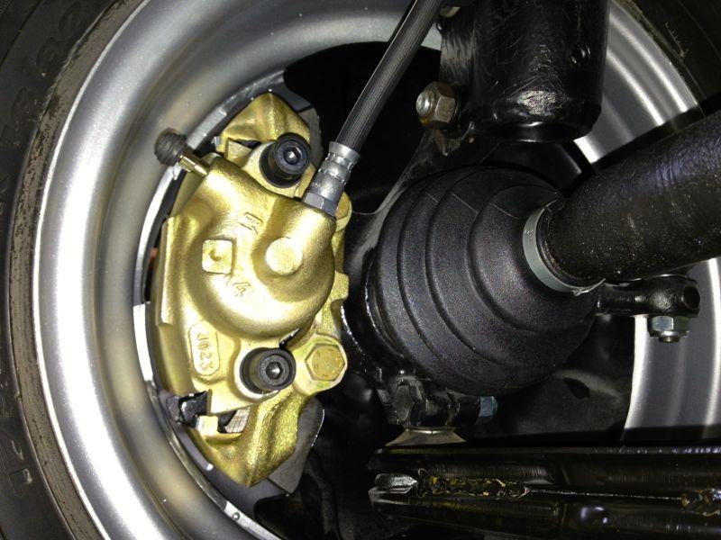 VW II Bremse Passgenauigkeit